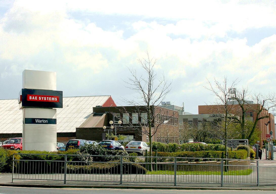 Bae Systems Samlesbury And Warton Cm Oxendale